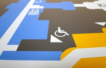 Gestalterischer Anspruch Behindertenzeichen